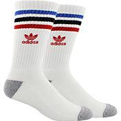 adidas Men's Roller Prime Knit Single Crew Socks