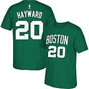 adidas Men's Boston Celtics Gordon Hayward #20 Kelly Green T-Shirt