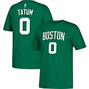 adidas Men's Boston Celtics Jayson Tatum #0 Kelly Green T-Shirt