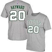 adidas Men's Boston Celtics Gordon Hayward #20 Grey T-Shirt