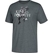 "adidas Men's Boston Celtics Isaiah Thomas ""King In The Fourth"" Grey T-Shirt"