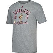 adidas Men's 2017 NBA Finals Cleveland Cavaliers Grey Tri-Blend T-Shirt