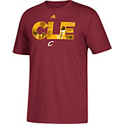 adidas Men's Cleveland Cavaliers Kyrie Irving Burgundy T-Shirt