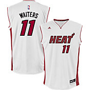 adidas Men's Miami Heat Dion Waiters #11 Home White Replica Jersey