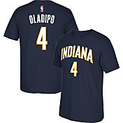 adidas Men's Indiana Pacers Victor Oladipo #4 Navy T-Shirt