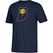 adidas Men's Indiana Pacers Navy T-Shirt
