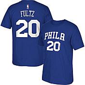 adidas Men's Philadelphia 76ers Markelle Fultz #20 Royal T-Shirt