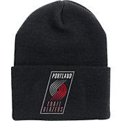 '47 Men's Portland Trail Blazers Black Cuffed Knit Hat