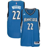 adidas Men's Minnesota Timberwolves Andrew Wiggins #22 Blue Swingman Jersey