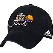 adidas Men's 2017 NBA Finals Golden State Warriors Black Adjustable Hat