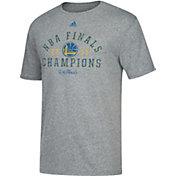 adidas Men's 2017 NBA Champions Golden State Warriors Grey Tri-Blend T-Shirt