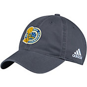 adidas Men's 2017 NBA Champions Golden State Warriors Locker Room Grey Adjustable Hat
