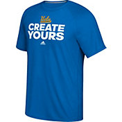 adidas Men's UCLA Bruins True Blue 'Create Yours' Basketball T-Shirt