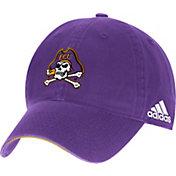 adidas Men's East Carolina Pirates Purple Sideline Coaches Adjustable Slouch Hat
