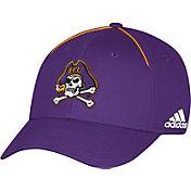 adidas Men's East Carolina Pirates Purple Sideline Coaches Structured Flex Hat