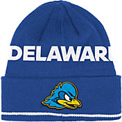 adidas Men's Deleware Fightin Blue Hens Blue Cuffed Knit Hat