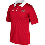 adidas Men's Louisiana-LaFayette Ragin' Cajuns Red Sideline Coaches Polo
