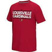 adidas Men's Louisville Cardinals Cardinal Red Dassler Performance T-Shirt
