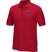 adidas Men's Miami Redhawks Red Performance Polo