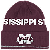 adidas Men's Mississippi State Bulldogs Maroon Cuffed Knit Beanie