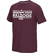 adidas Men's Mississippi State Bulldogs Maroon Dassler Performance T-Shirt