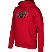adidas Men's NC State Wolfpack Red Arched Heat Pullover Hoodie