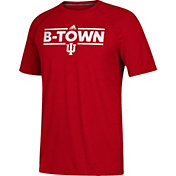 adidas Men's Indiana Hoosiers Crimson 'B-Town' Performance T-Shirt