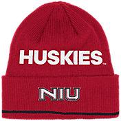 adidas Men's Northern Illinois Huskies Cardinal Cuffed Knit Beanie