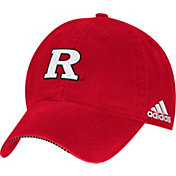 adidas Men's Rutgers Scarlet Knights Scarlet Sideline Coaches Adjustable Slouch Hat