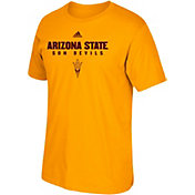 adidas Men's Arizona State Sun Devils Gold Cotton T-Shirt