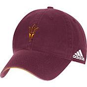 adidas Men's Arizona State Sun Devils Maroon Sideline Coaches Adjustable Slouch Hat