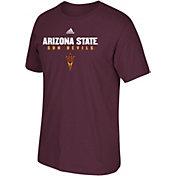 adidas Men's Arizona State Sun Devils Maroon Cotton T-Shirt