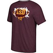 adidas Men's Arizona State Sun Devils Maroon Football Ultimate Short Sleeve T-Shirt