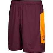 adidas Men's Arizona State Sun Devils Maroon Sideline Shorts