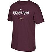 adidas Men's Texas A&M Aggies Grey Cotton T-Shirt