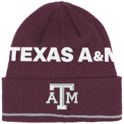 adidas Men's Texas A&M Aggies Maroon Cuffed Knit Beanie