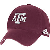 adidas Men's Texas A&M Aggies Maroon Sideline Coaches Adjustable Slouch Hat