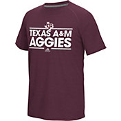adidas Men's Texas A&M Aggies Maroon Dassler Performance T-Shirt