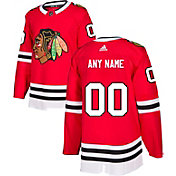 adidas Men's Custom Chicago Blackhawks Authentic Pro Home Jersey