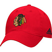 adidas Men's Chicago Blackhawks Basic Red Slouch Adjustable Hat
