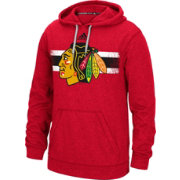 adidas Men's Chicago Blackhawks Heather Red Pullover Hoodie