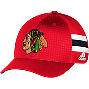 adidas Men's Chicago Blackhawks 2017 NHL Draft Structured Flex Hat
