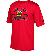 adidas Men's Chicago Blackhawks Misconduct Performance Red T-Shirt