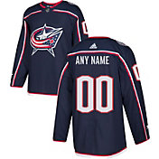 adidas Men's Custom Columbus Blue Jackets Authentic Pro Home Jersey