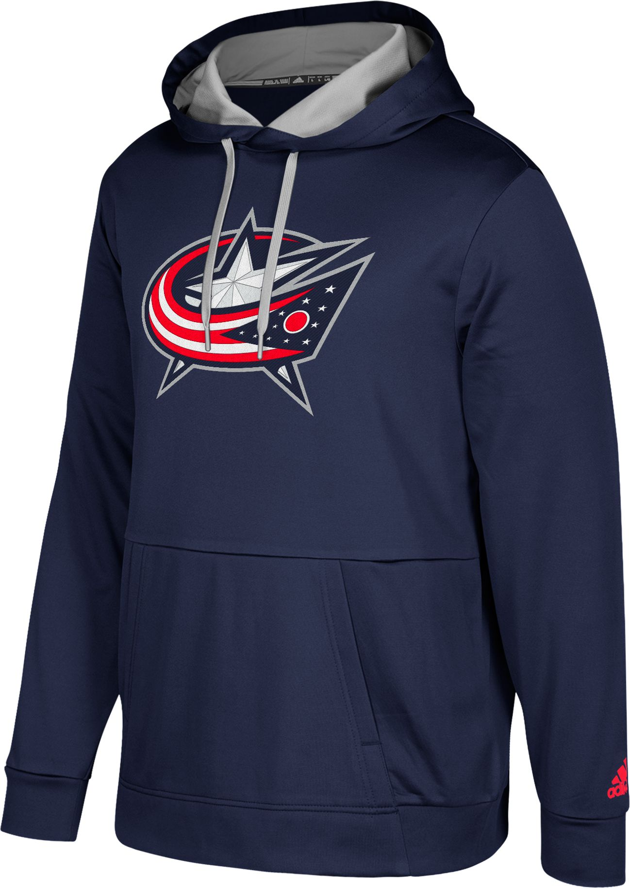adidas Men's Columbus Blue Jackets Navy Performance Pullover ...