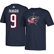 adidas Men's Columbus Blue Jackets Artemi Panarin #9 Navy T-Shirt