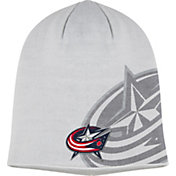 adidas Men's Boston Bruins Logo Grey Knit Beanie