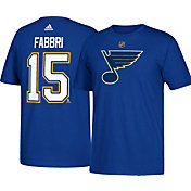 adidas Men's St. Louis Blues Robby Fabbri #15 Royal T-Shirt