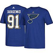 adidas Men's St. Louis Blues Vladimir Tarasenko #91 Royal T-Shirt