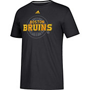 adidas Men's Boston Bruins Go-To Shift Black Performance T-Shirt